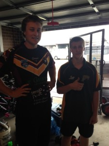 Jersey Day 2016 Nathan and Owen