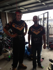 Jersey Day 2016 Owen and Paul